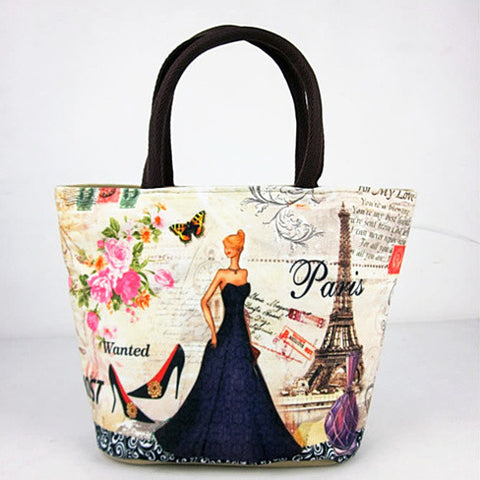 Souvenirs Hand Bags In Canvas From Journey Collection - VistaShops - 3