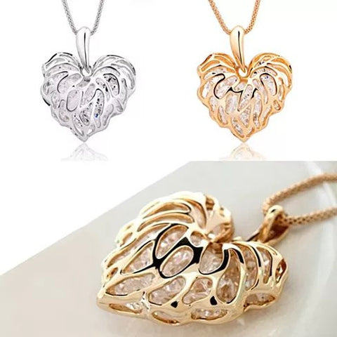 Sweet Memories The Treasures Of A Lifetime Necklace In Gold And Silver Plating - VistaShops - 1