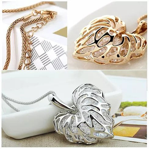 Sweet Memories The Treasures Of A Lifetime Necklace In Gold And Silver Plating - VistaShops - 2