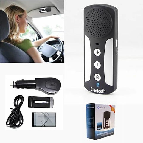Talk Talk Talk HandsFree Bluetooth Multipoint Car SpeakerPhone - VistaShops - 3