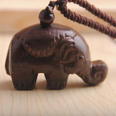 Tiny Trunk Necklace From TRUNK SHOW Collection