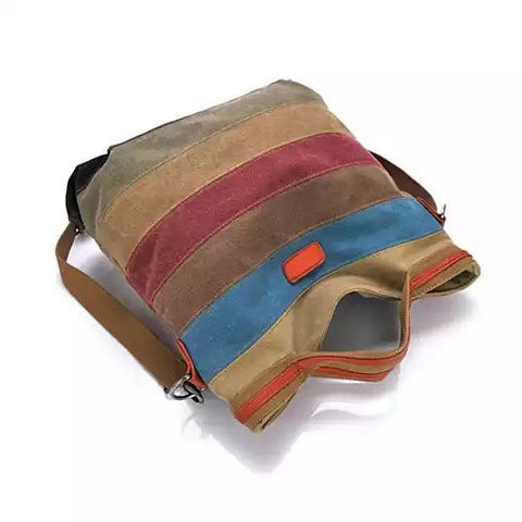 VIVA VOYAGE Living Large Canvas Bag From Journey Collection With FREE RFID BLOCKER WALLET - VistaShops - 2
