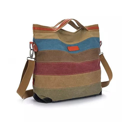VIVA VOYAGE Living Large Canvas Bag From Journey Collection With FREE RFID BLOCKER WALLET - VistaShops - 6