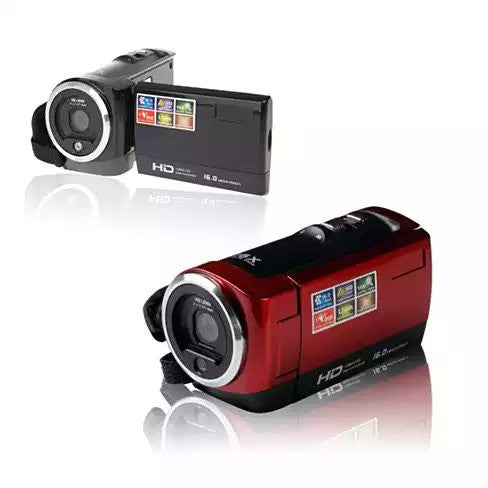 Video Crafter a Hand Held Video Camera with 16 Mega Pixel Lens and 16X Zoom - VistaShops - 1
