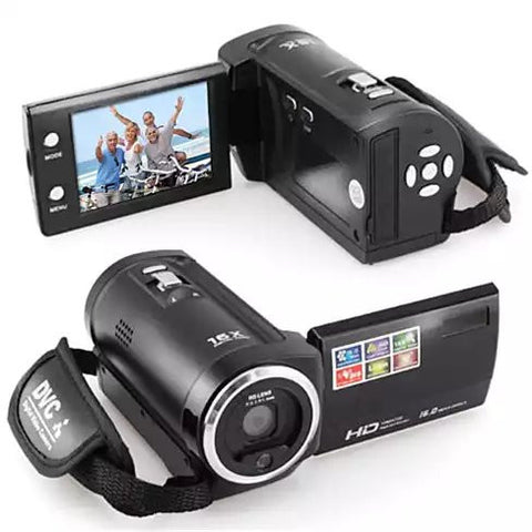 Video Crafter a Hand Held Video Camera with 16 Mega Pixel Lens and 16X Zoom - VistaShops - 2