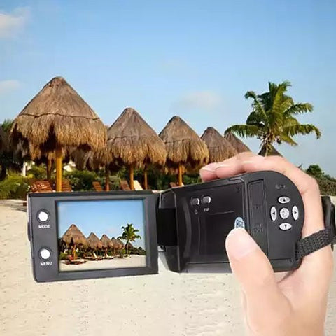 Video Crafter a Hand Held Video Camera with 16 Mega Pixel Lens and 16X Zoom - VistaShops - 3