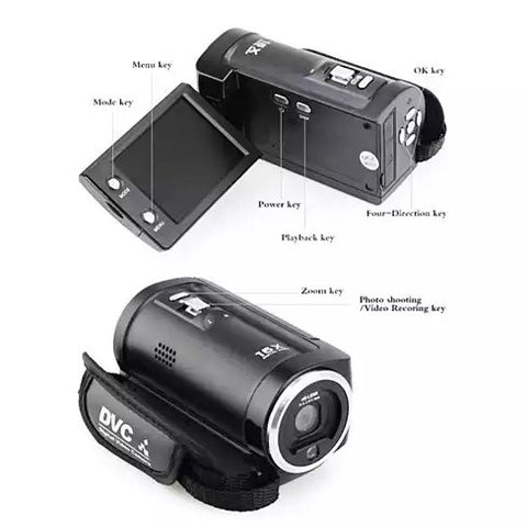 Video Crafter a Hand Held Video Camera with 16 Mega Pixel Lens and 16X Zoom - VistaShops - 4