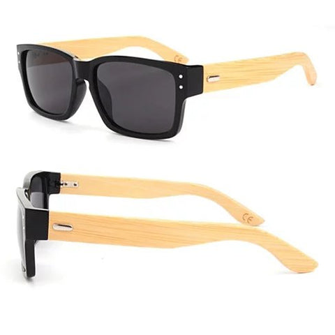 WANDERLUST SUNGLASSES ECO Friendly Made from Bamboo Wood And Recycled Plastic Material - VistaShops - 2