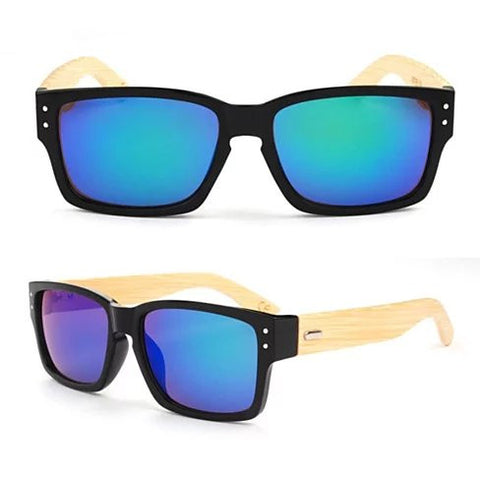 WANDERLUST SUNGLASSES ECO Friendly Made from Bamboo Wood And Recycled Plastic Material - VistaShops - 4