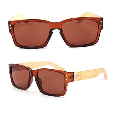 WANDERLUST SUNGLASSES ECO Friendly Made from Bamboo Wood And Recycled Plastic Material - VistaShops - 5