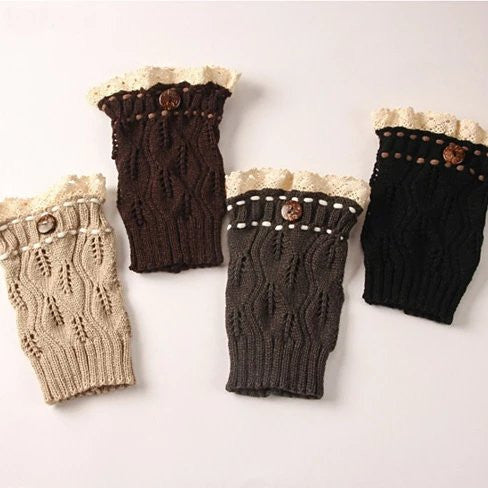 Winter Warmers SuperCute CableKnit Socks - VistaShops - 1