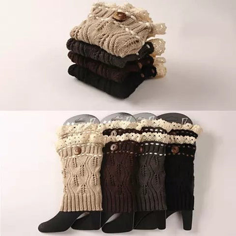 Winter Warmers SuperCute CableKnit Socks - VistaShops - 2