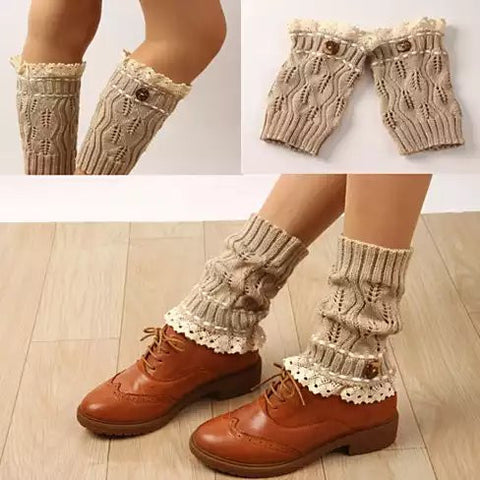 Winter Warmers SuperCute CableKnit Socks - VistaShops - 3