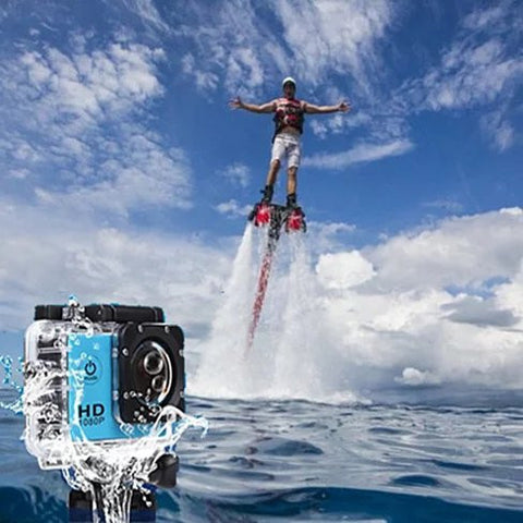 All PRO Action Sports Camera With 1080P HD And WiFi 18 PCS Of Accessory Included