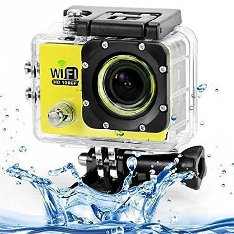 All PRO Action Sports Camera with HD 1080P and WiFi *18 pcs of Accessory included* - VistaShops - 2