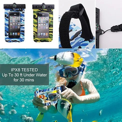AQUA POUCH - Waterproof Pouch for your Smartphone and your Essentials - VistaShops - 2