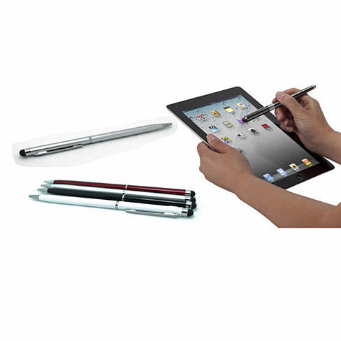 shopify-Aristocrat 2 in 1 stylus pen with built in pen and stylus-1