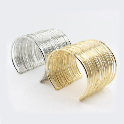 Gala Party Time Bracelets In 18 Kt Gold Plating And 925 SS Plating
