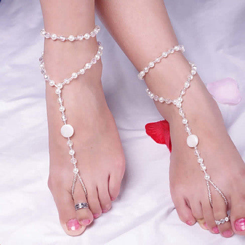 Barefoot On The Beach Anklets - VistaShops - 1