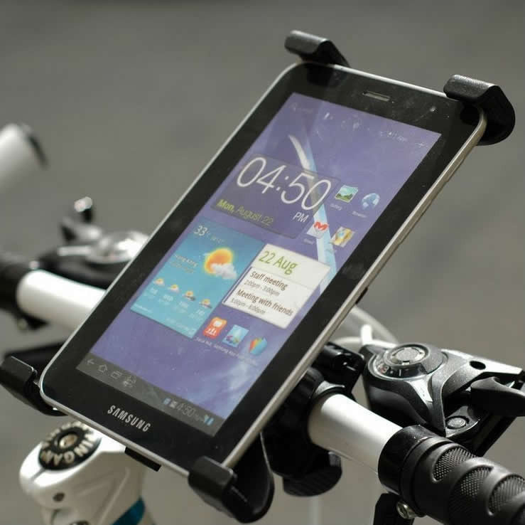 Bike Mounted iPad & Tablet Holder & Stand - VistaShops - 1