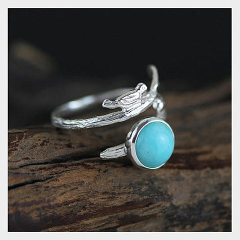 Singing Bird - The Bird with the Nest Ring - VistaShops - 2