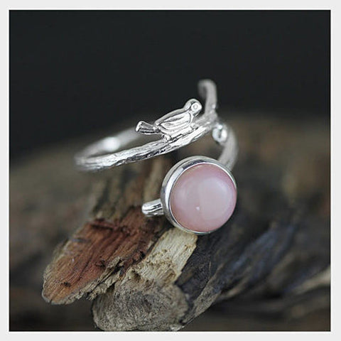 Singing Bird - The Bird with the Nest Ring - VistaShops - 3