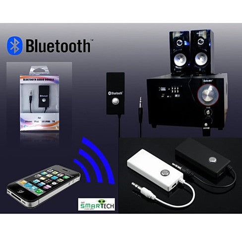 bluetooth music receiver play music from your phone in your car or a vistashops. Black Bedroom Furniture Sets. Home Design Ideas