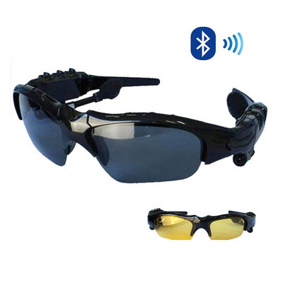 Day and Night Sunglasses with Bluetooth headphone and handsfree talk - VistaShops - 1