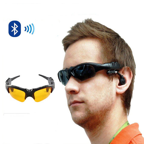 Day and Night Sunglasses with Bluetooth headphone and handsfree talk - VistaShops - 2