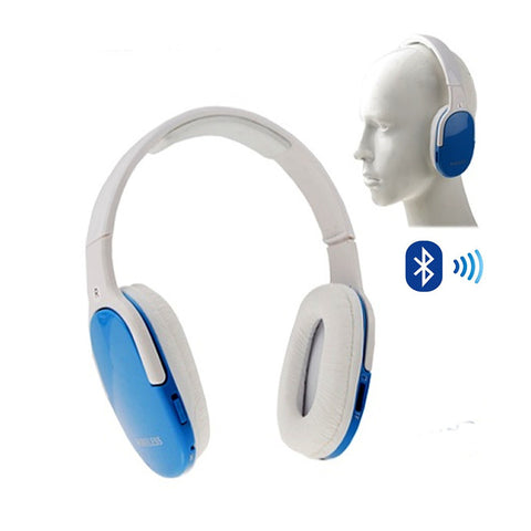 Easy Listening Comfy Bluetooth Headphones, MP3 Player & FM Radio