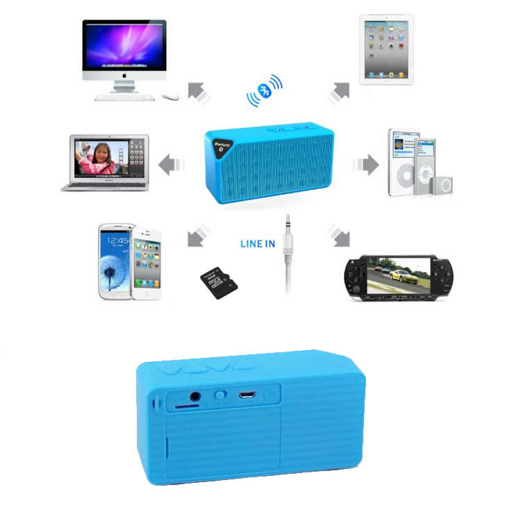 Brick Rock Music - A Bluetooth Enabled Speaker and More - VistaShops - 3