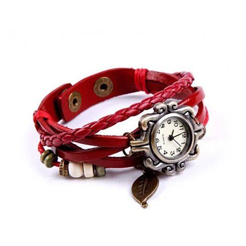 shopify-Bohemian Charm Fashion Bracelet Watch-1