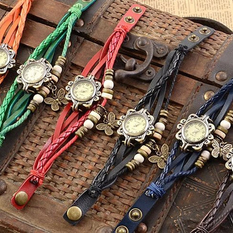 Bohemian Charm Fashion Bracelet Watch - VistaShops - 2