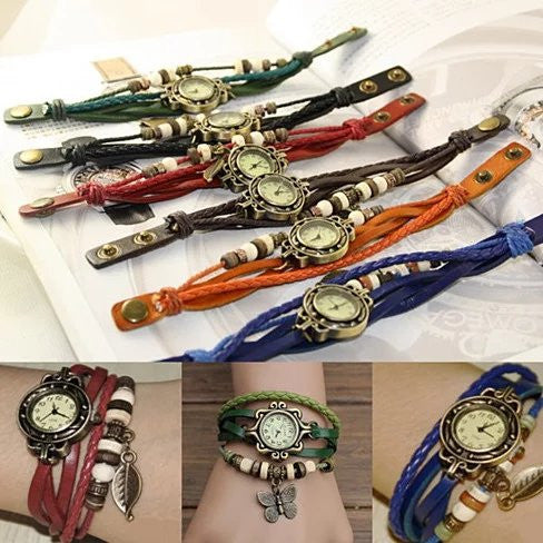 Bohemian Charm Fashion Bracelet Watch - VistaShops - 3
