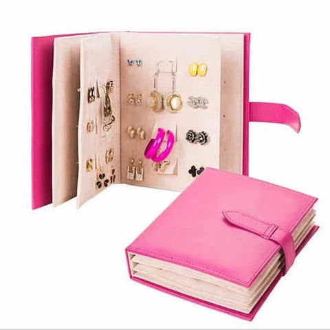 Jewel Book - For Your Favorite Earrings - Sort, Store, Enjoy - VistaShops - 1