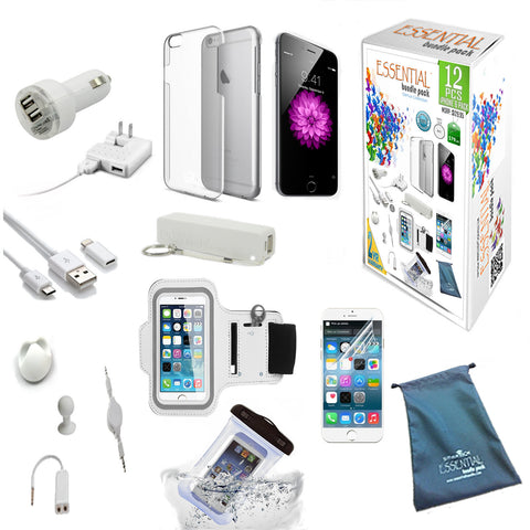 iPhone 6 Genius Collection - 12 pcs of Essential Bundle Pack - VistaShops - 1