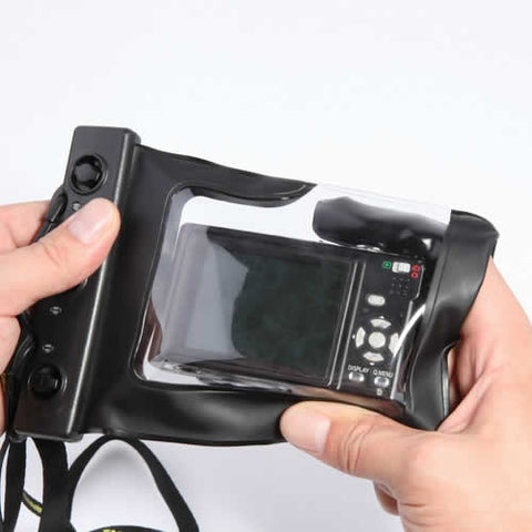 Digital Camera Waterproof Case. Let it snow! You can still be out there and take memorable pictures - VistaShops - 2
