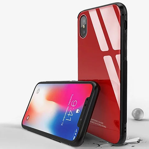 Classy Glass iPhone 8/8Plus And 10X Case