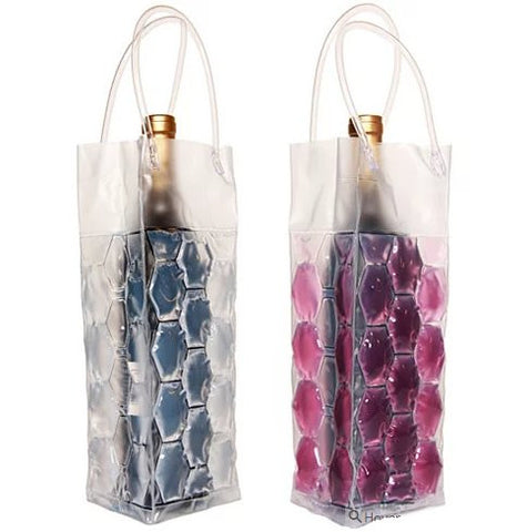 CHILL at WILL - The Wine Freezer Bags in various colors - VistaShops - 2