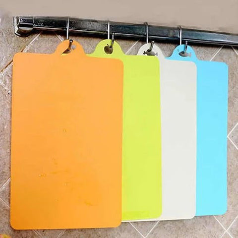 Chop & Pour - The Flexible Cutting Boards in Pack of 4 - VistaShops - 2