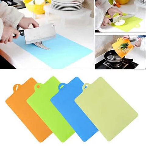 Chop & Pour - The Flexible Cutting Boards in Pack of 4 - VistaShops - 3