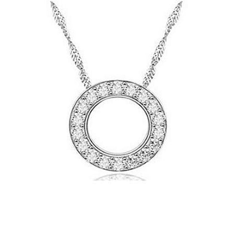 Circle of Inspiration Pendant & Chain - A token of Love and Strength within the Family - VistaShops - 1