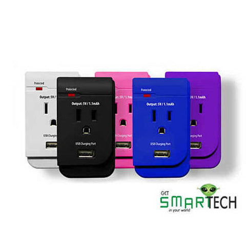 CLASSIC COMBO Solo now in colors get USB and AC Outlet in one