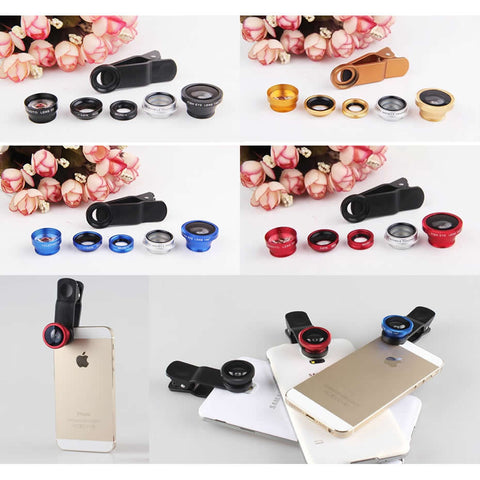 Clear Image with 5 Clip and Snap Lens for your Smartphone - VistaShops - 2