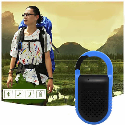 Clip N Go Bluetooth Speaker and Handsfree Speakerphone