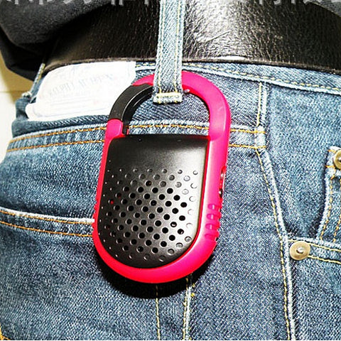 Clip N Go Bluetooth Speaker and Handsfree Speakerphone - VistaShops - 4