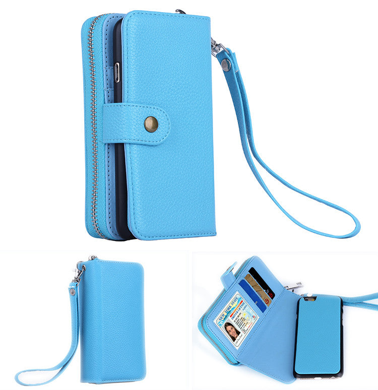 shopify-iPhone 6/6 Plus Clutch Purse with Detachable Phone Case-3