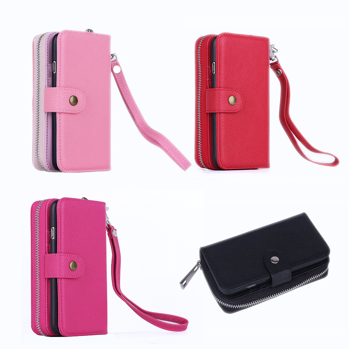 shopify-iPhone 6/6 Plus Clutch Purse with Detachable Phone Case-4