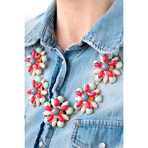 Confetti - Celebrate with our colorful Necklace - VistaShops - 1