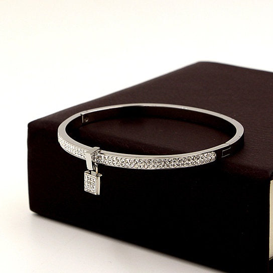 Love Locked Bracelet With A Charm